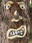 Unclean Language Tree Face