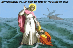 Authoritative Will of God Illustrated By Walking On Water